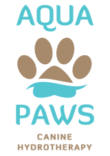 AQUA PAWS | CANINE HYDROTHERAPY | WORMLEY | GODALMING | SURREY Logo